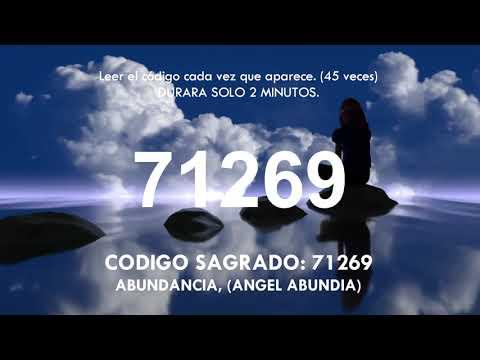 CODIGO SAGRADO: 71269 ABUNDANCIA, (ANGEL ABUNDIA)