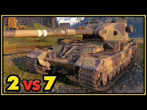 FV215b (183) - 2 vs 7 - World of Tanks Gameplay