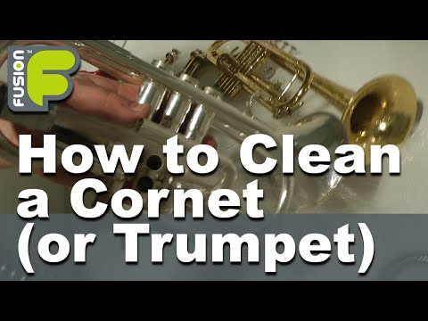 How to Clean a Cornet or Trumpet