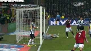 AC Milan - Juventus 1 - 1 Samenvatting 25 - 2 - 2012