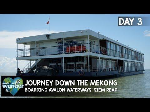 Journey Down The Mekong: Day 3 - Boarding Avalon Waterways' Siem Reap