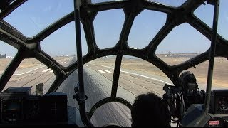 "Boeing B-29 ""Fifi"" Flight from the Cockpit- Bakersfield, California (KBFL)"