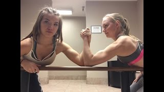 Arm Wrestling + Abs Punching • competition • #4