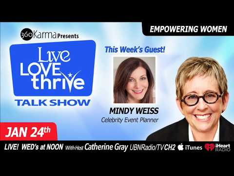 Ep. #75 Creating celebrity weddings and events with Mindy Weiss