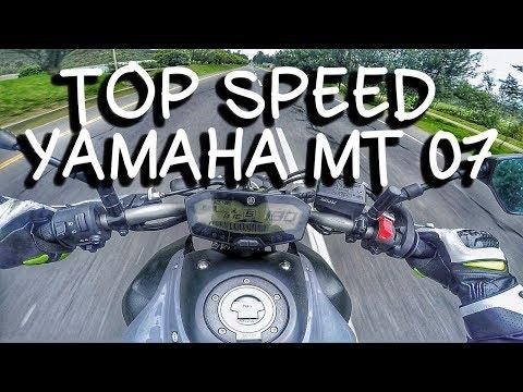 TOP SPEED YAMAHA MT 07 | DRAG RACE | VS NINJA 650