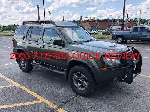 2003 Nissan Xterra quick review