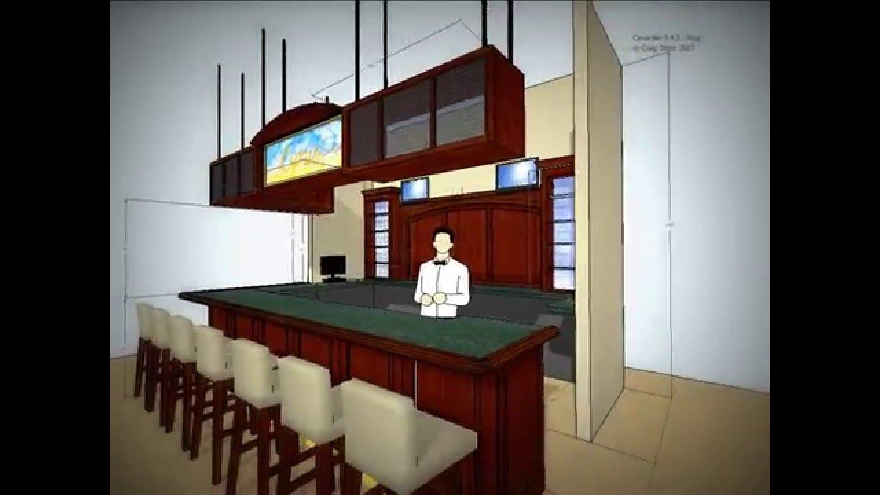 sketchup bar design.mov - youtube