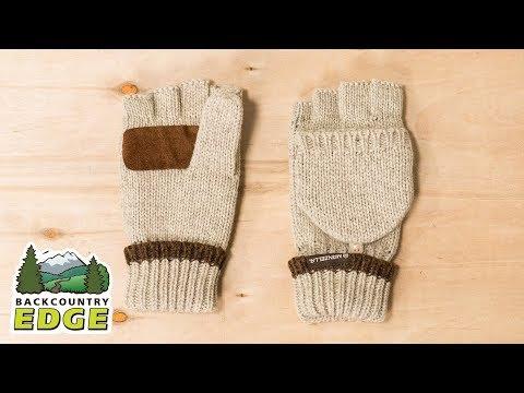 Manzella Men's Ragwool Convertible Gloves