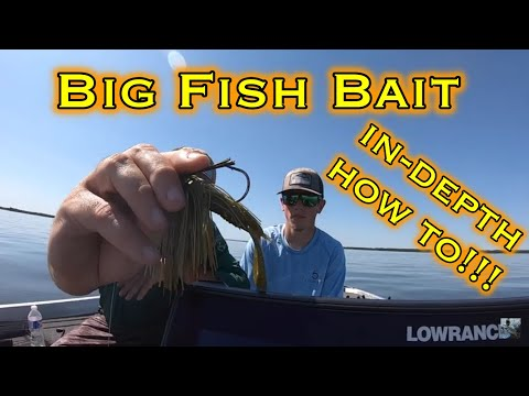 Lake Fork Bass Fishing: How To Catch Big Bass Offshore W/ A Big Jig!!!