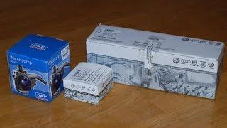 Ремень ГРМ и помпа для Skoda Octavia. Распаковка оригинальных запчастей.