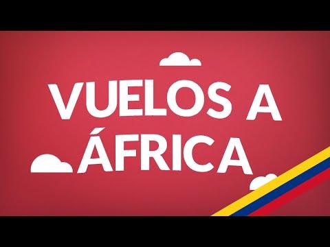 Vuelos a África| Aquí tenemos los tiquetes más baratos!
