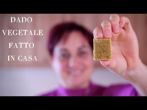 DADO VEGETALE FATTO IN CASA Ricetta Facile - Homemade Veggie Stock Cubes Easy Recipe