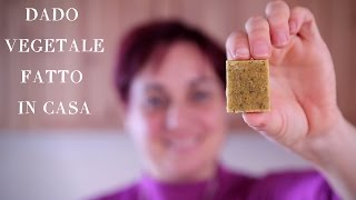 DADO VEGETALE FATTO IN CASA Ricetta Facile - Homemade Veggie Stock Cubes Easy Recipe