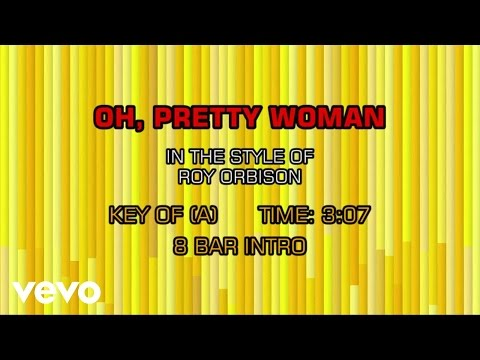 Roy Orbison - Oh, Pretty Woman (Karaoke)
