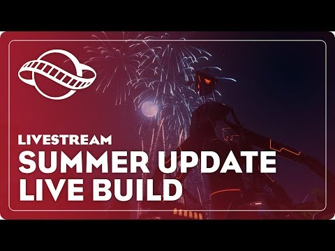 Planet Coaster - Summer Update LIVE BUILD (w/ Sam Denney)