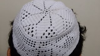HOW TO MAKE MUSL M PRAYERSKULL CAP  N H ND