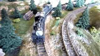 Shay Double Header (N Scale) HD Video