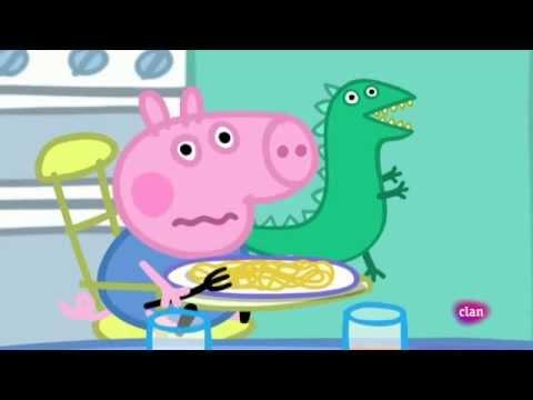1x02 peppa pig en espa ol el se or dinosaurio se ha for En youtube peppa pig