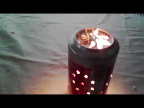 Lampara que gira sin luz el ctrica j youtube - Lamparas que den mucha luz ...