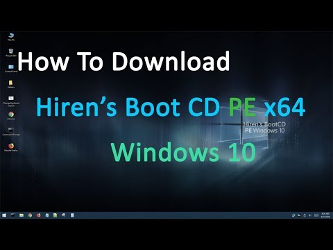 How To Download Hiren's Boot CD PE X64 Windows 10 || Jagadish Sharma
