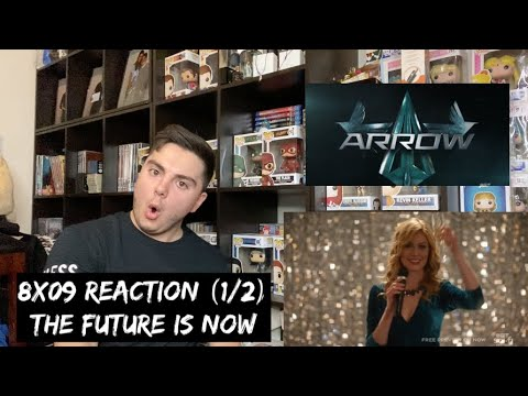 ARROW - 8x09 'GREEN ARROW & THE CANARIES' REACTION (1/2)