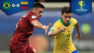 VAR impide triunfo de Brasil | Brasil 0 - 0 Venezuela | Copa América | Televisa Deportes