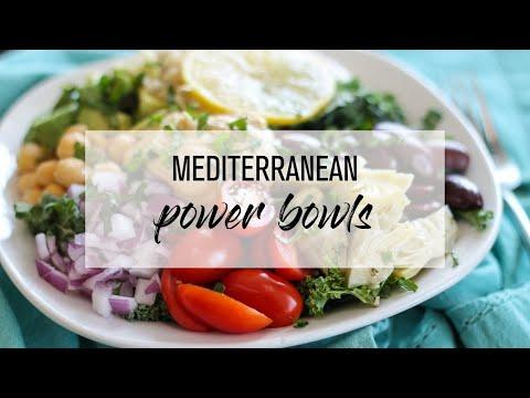 Mediterranean Power Bowls