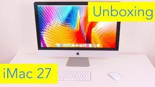 iMac 27 inch 5K (2017 Model) Unboxing and Setup