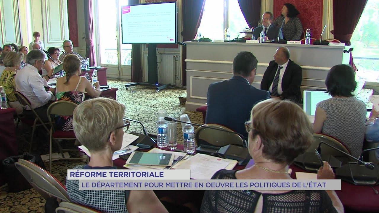 Yvelines | Réforme territoriale : Le département pour mettre en oeuvre les politiques de l'Etat