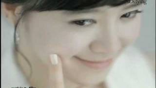 100113  Goo Hye Sun - Making of ADefying commercial