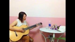 CHUYẾN TÀU HOÀNG HÔN - Guitar solo