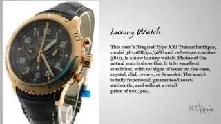 Breguet Type XXI Transatlantique 18k Rose Gold Watch