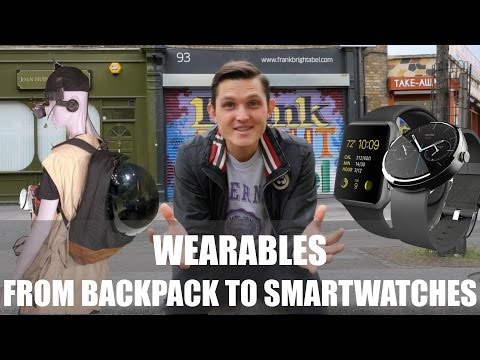 Wearables - From Computer In A Backpack to Smartwatches