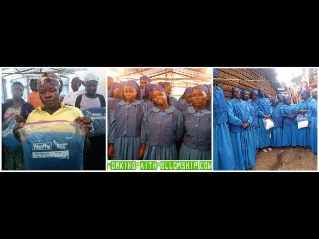 WFF Kibera Receives Blessings of Dresses & Head Coverings