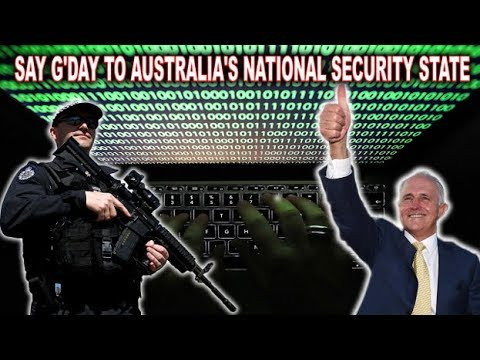 Say G'day! To Australia's National Security State