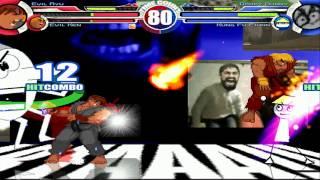 Evil Ryu & Evil Ken vs Dooby Dummy & Kung Fu Fiunn MUGEN Battle!!!