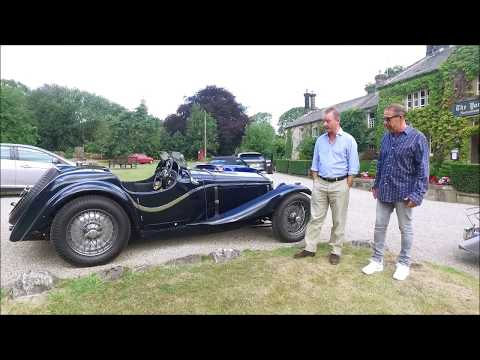 Review Original Austin Healey at the Yorke Arms Yorkshire