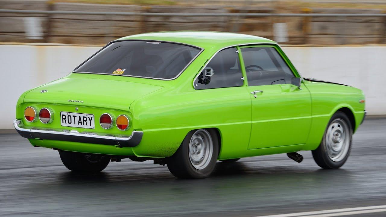 10-second Mazda R100 rotary turbo - YouTube