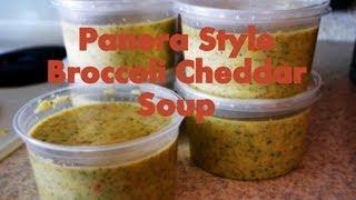 Broccoli Cheddar Soup {panera Style}