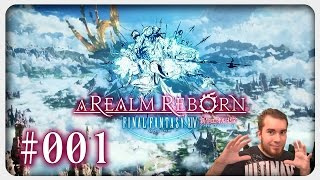 Lets Play FINAL FANTASY XIV #001 German Walkthrough Gameplay ツ A Realm Reborn