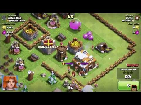 Valkyrie Axe Woman Best Defence Ever Clash of Clans