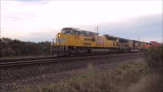 EPIC EMD SOUND! UP SD70ACe Goes Notch 8 W/ 2 AC6000s!