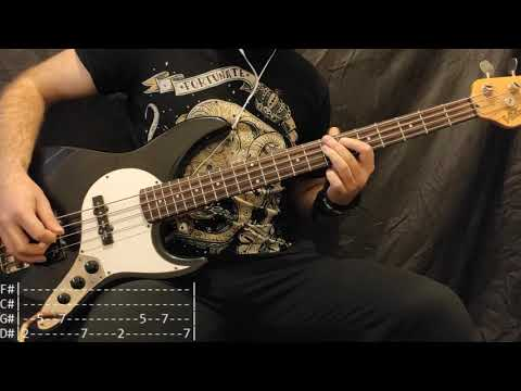 Rise Against - Satellite Bass Cover (Tabs)