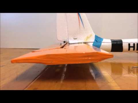 Hitec SkyScout - Tailplane Improvement