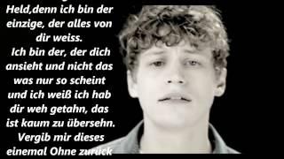 Tim Bendzko - Ohne zurück zu sehen (Lyrics)
