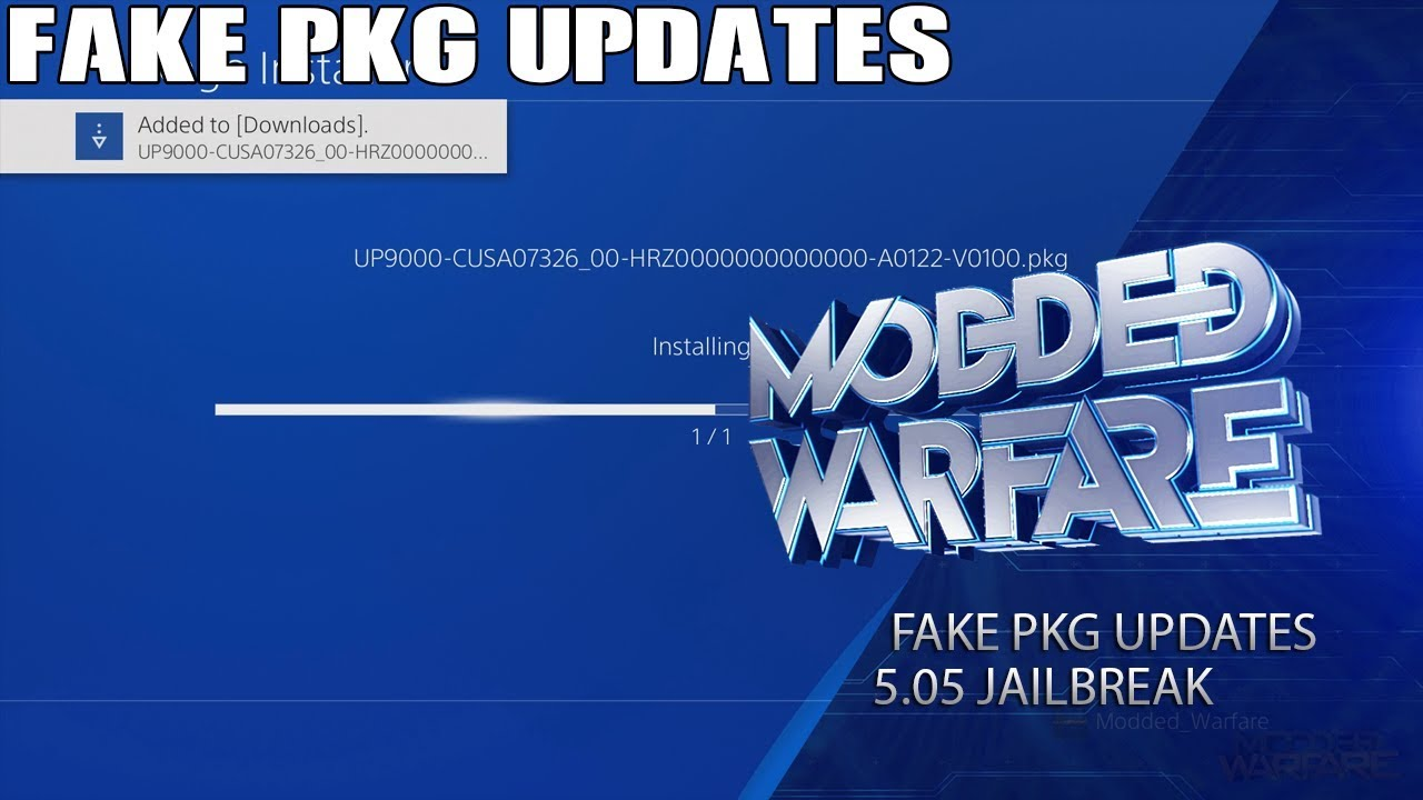 PS4 FPKG Game Updates with Mismatched Title ID / Region Patch Guide
