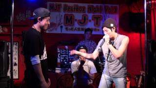 MJT vol.3 20代部門 決勝戦 ko-suke vs ZU-nA