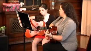 Theresa A  2 Guitar Lessons | B&B Guitar Recital 7:8:12