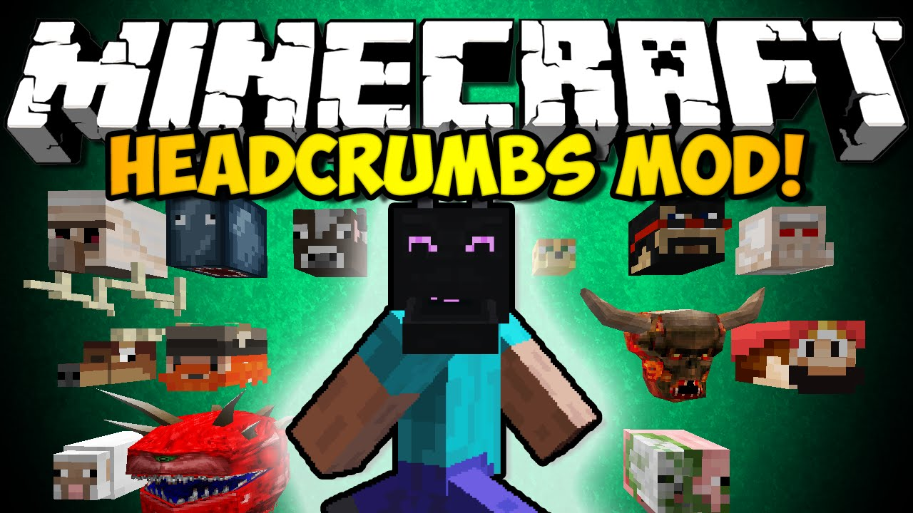 Minecraft Headcrumbs Mod Youtuber Heads Amp Statues Every