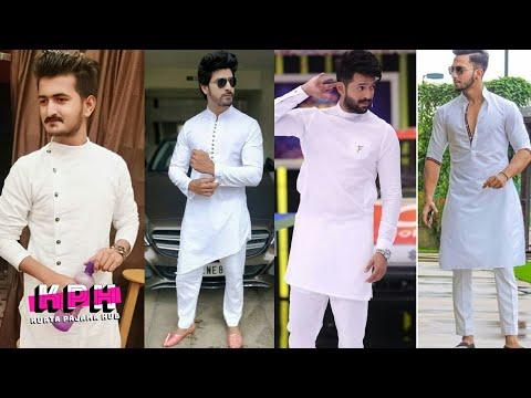White Kurta  Pajama For Men 2019    Latest Design  Kurta Pajama 2019    KPH    Kurta Pajama Hub